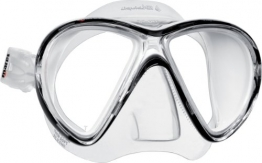 Mares X-VU LiquidSkin Maske Farbe transparent-schwarz - 1