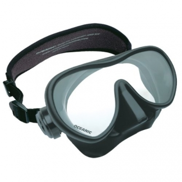 Oceanic SHADOW LIQUID Silikon Tauchmaske (schwarz) - 1