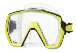 Tusa M1001 Freedom HD Scuba Diving Mask - Flash Yellow - 1