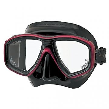 CEOS M-212 Maske von Tusa Fb. schwarz/rot - 1