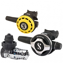 Scubapro MK25 / S600 und Octo R195 - Atemreglerset - 1