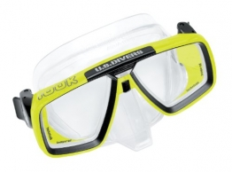 Technisub - LOOK Tauchmaske, transparent-lime - 1